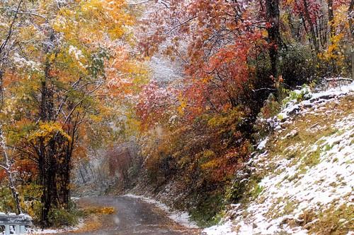 fall colors pennsylvania autumnsnow haydentown mudpikeroad