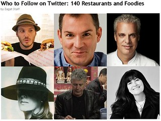 Zagat - Who to Follow on Twitter - 140 Restaurants and Foodies | by Jeff Houck
