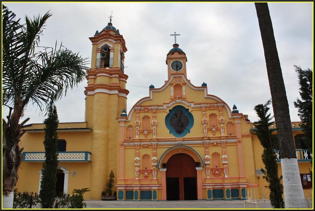 Parroquia de San Miguel Arcángel,Tomatlán,Veracruz,México