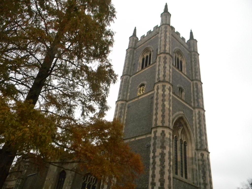 Dedham Church Tower Manningtree Circular