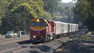 Standard gauge pass train | by michaelgreenhill