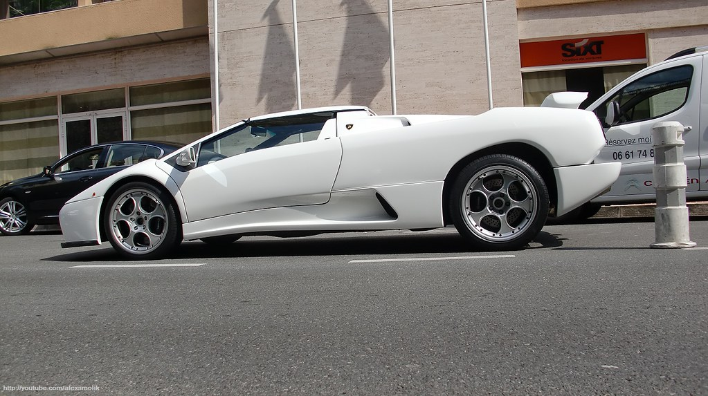 Lamborghini Diablo Vt Roadster White Lamborghini Diablo Vt Flickr