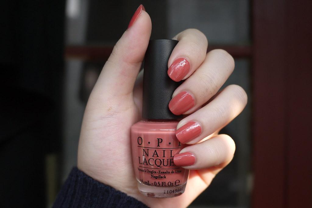 Amy S Nail Arts Opi Java Mauve A Nl S46 The Closest To Th
