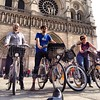 notre dame, #velib, w/ @danlatorre, @paolopp, @clairecrice & my foot at #m2062. by noneck