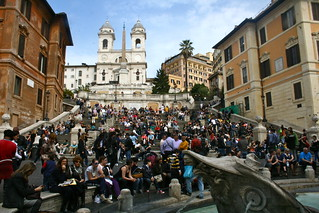 Spanish Steps | by partie traumatic