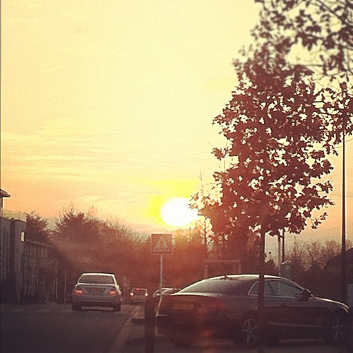 street sunset sun square soleil great coucher grand squareformat flare rise luxembourg rue duchy duche merl iphoneography instagramapp uploaded:by=instagram foursquare:venue=4cc4053e3d7fa1cdb766a95f