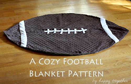 Football Blanket | by ohsohappytogether