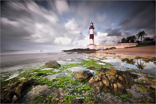 sunset brazil lighthouse brasil sunrise bahia salvador farol itapuã dantelaurinijr