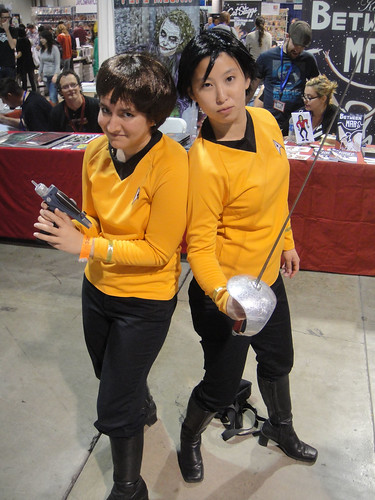 Long Beach Comic & Horror Con 2011 - original series Star Trek girls | by Doug Kline