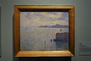 Theo van Rysselberghe: Sailing Boats in an Estuary, 1892-1895 | by ~adrian