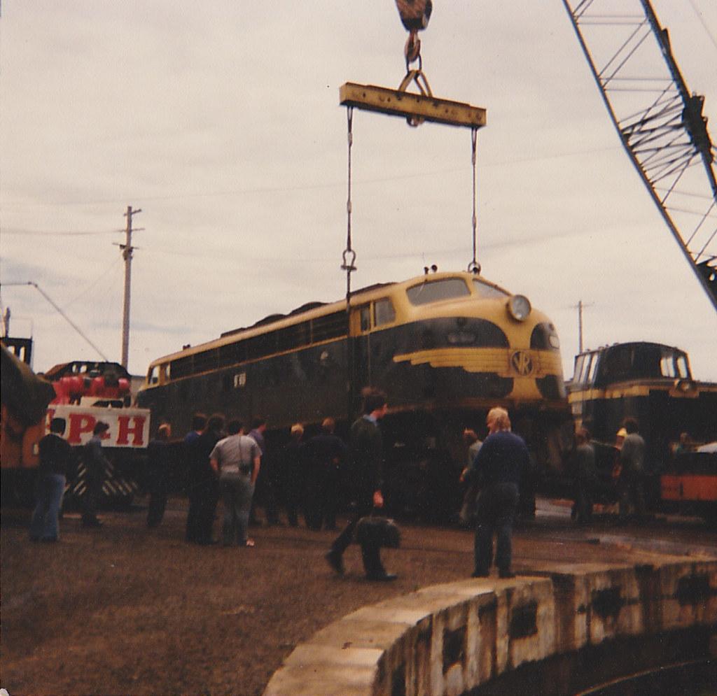 Geelong Locomotive Depot 4, Fri 23rd Nov, 1979 by MurrayJoe