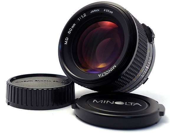 ミノルタ ニューMD 50mm F1.2