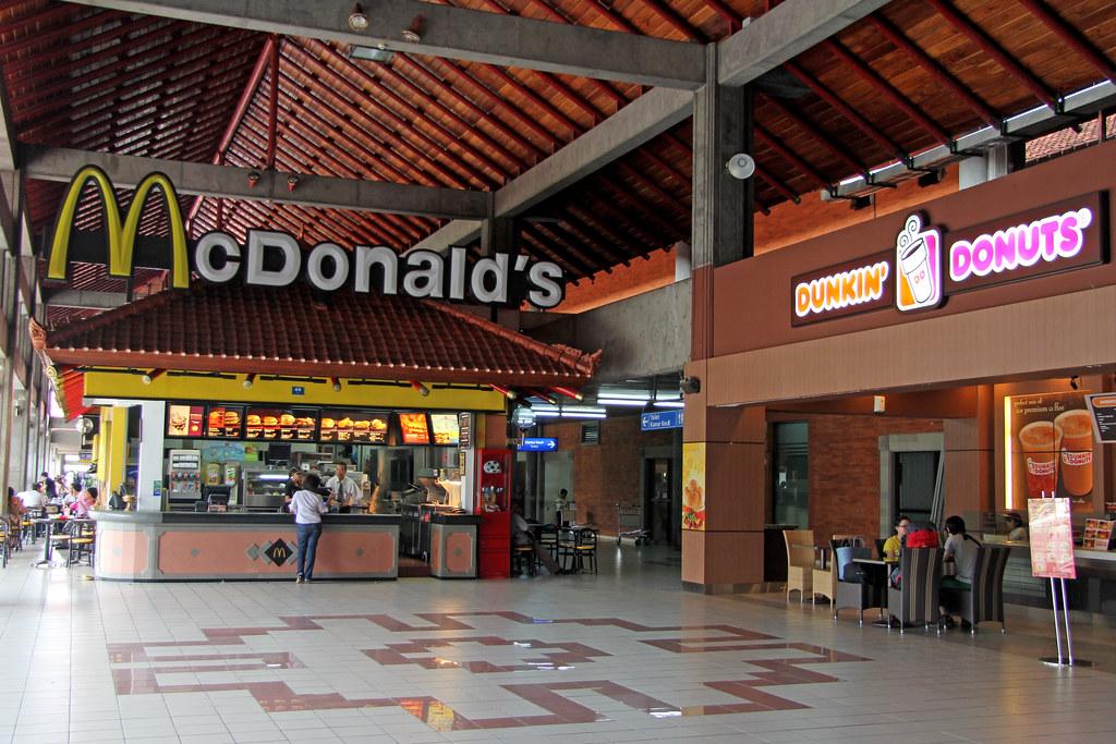 Mcdonald S Bali Ngurah Rai Int Airport Indonesia Flickr