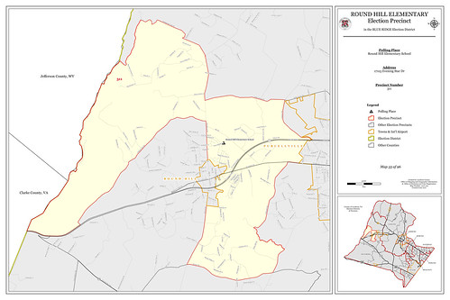 Precinct 311- Round Hill Elementary | by Office of Mapping, County of Loudoun