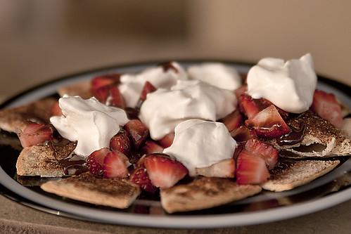 cinnamon chips & strawberries | by Mark Bonica