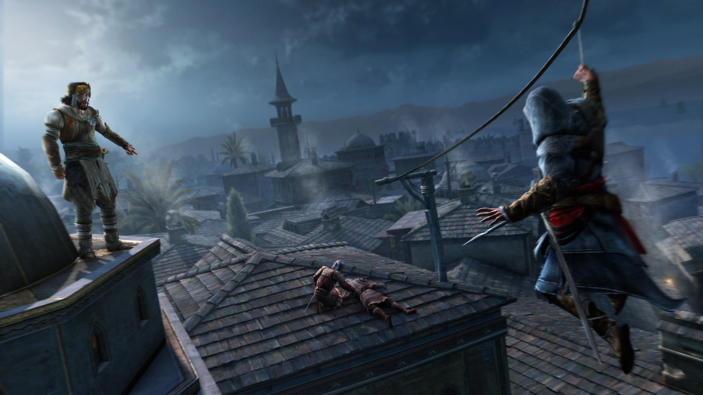 Ps3 Assassin S Creed Revelations Constantinople Zipline Flickr