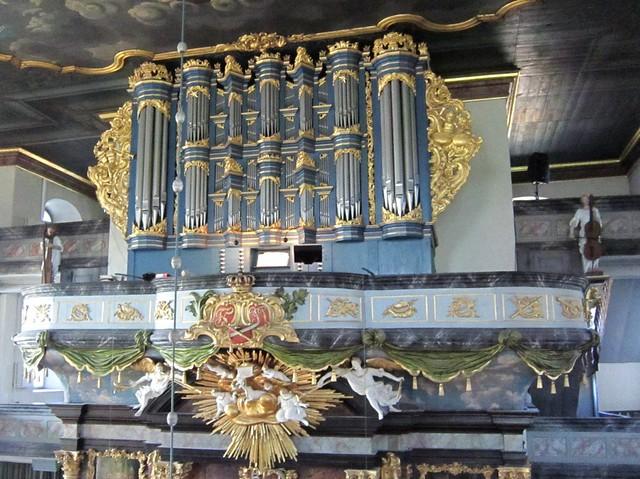 Kongsberg kirke – Glogerorgelet