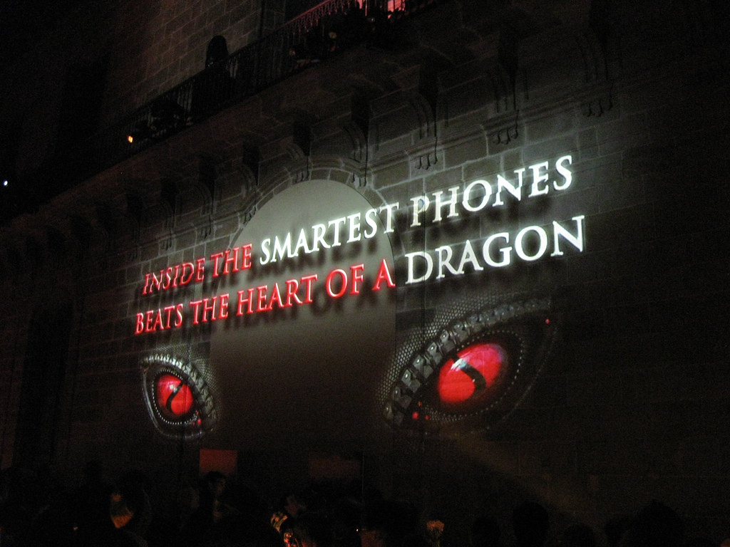 Qualcomm party celebratin snap dragon
