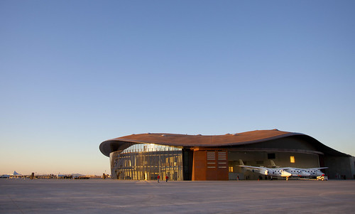 Spaceport America. Photo by Mark Greenberg | by Virgin Galactic