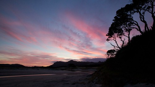 newzealand coast sunrisesunset whangarei teararoa thelongpathway