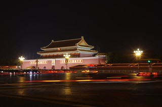Tian'anmen at Night   by elpolodiablo
