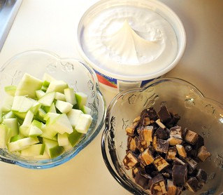 Making Snickers Salad | by mamaslittlemonkeys