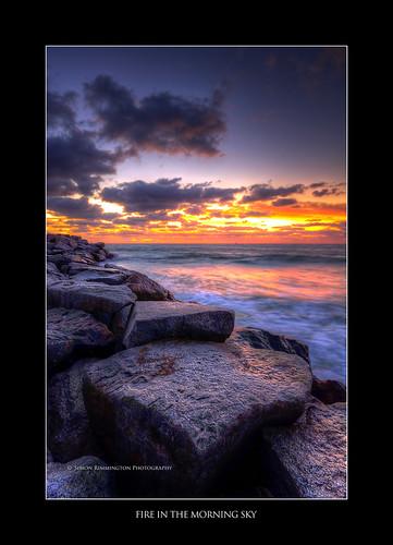 ocean sunrise rocks fortlauderdale inlet hdr sigma1020 nikond90 leendgradfilter
