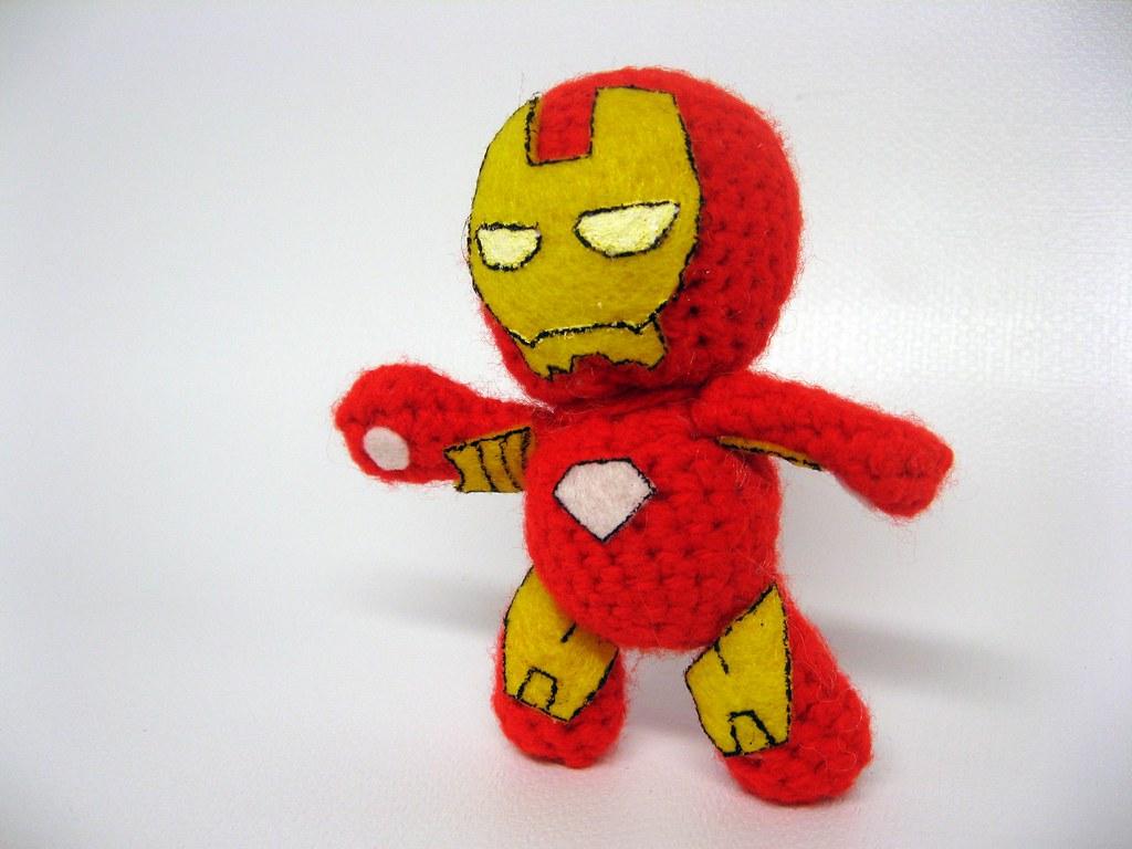 Iron Man Amigurumi Pattern – Snacksies Handicraft   768x1024