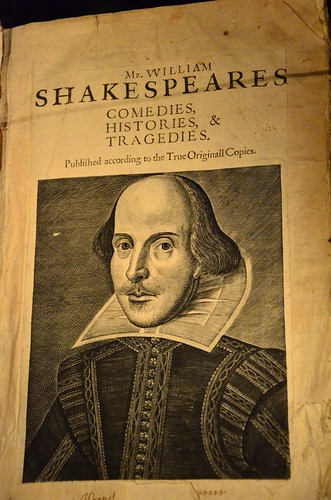 Front cover of William Shakespeare's First Folio | by Ben Sutherland