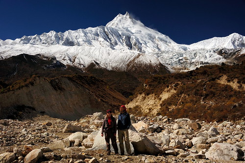 Sergey, I and Manaslu | by Oleg Bartunov