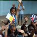 Despedida al Papa en La Habana bajo la lluvia