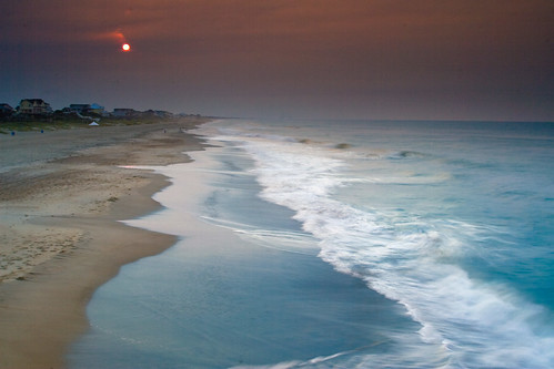 beach canon eos nc surf northcarolina polarizer emeraldisle 30d crystalcoast canonef24105mmf4lis boguebanks singhray bogueinletfishingpier goldnblue singhraygoldnbluepolarizer