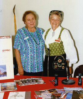 Osprey - Janet and Dollie Bie at Scandinavian Picnic (1996)