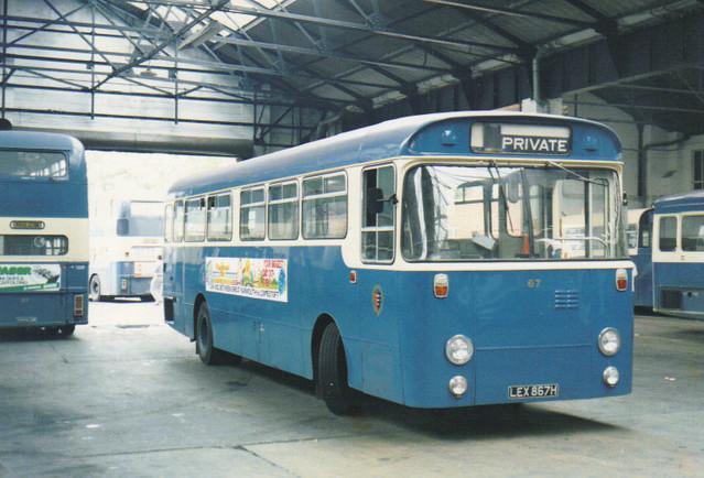 67, LEX 867H, AEC Swift, Willowbrook Body B43D, 1970(t.1985)