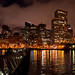 SF waterfront at night by class M planet