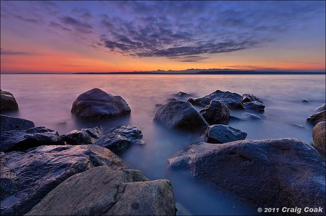 Water & Rocks @ Edmonds (WA)...lighter version