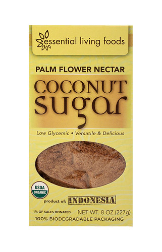 Organic Indonesian Palm Coconut Sugar/ Low Glycemic | by essentiallivingfoods