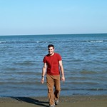 At the Caspian Sea