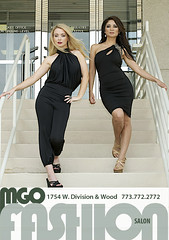 Josie Lee and Tor modeling for MGO Fashion