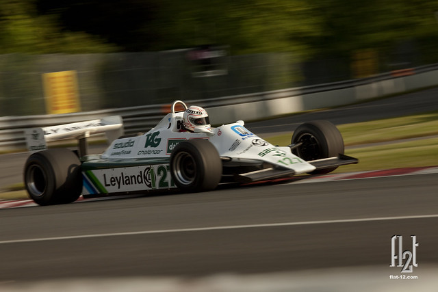 Hamish Somverville, Williams FW07B