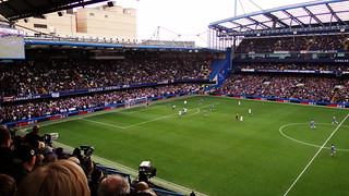TV cameras filming the Chelsea versus Leicester City FA Cup quarter-final | by Ben Sutherland