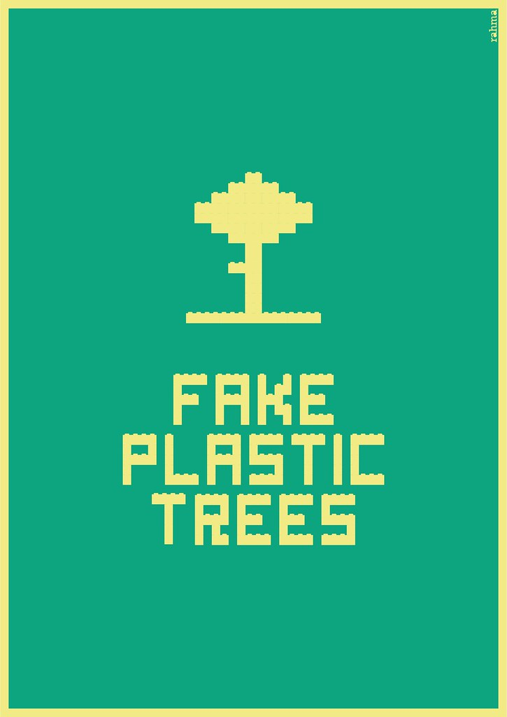 Fake Plastic Trees.Fake Plastic Trees Illustration For The Song Fake Plastic