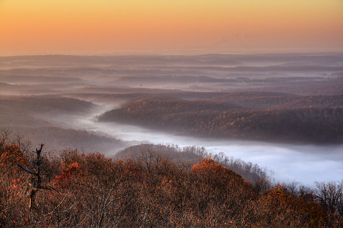 hdrtonemapped fog meteorology sunrise dughillridge blackmountain cumberlandcounty cumberlandco tennessee tn landscape hdr tennesseeparksandgreenwaysfoundation tnpagf rearthporn best