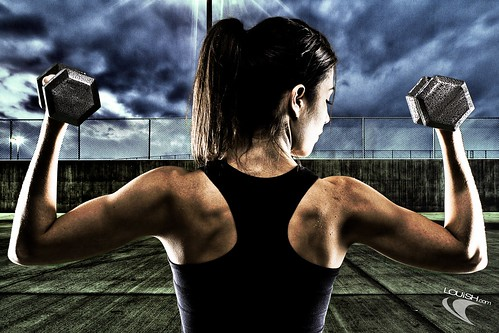 Exercise Weights Strobist | by Louish Pixel