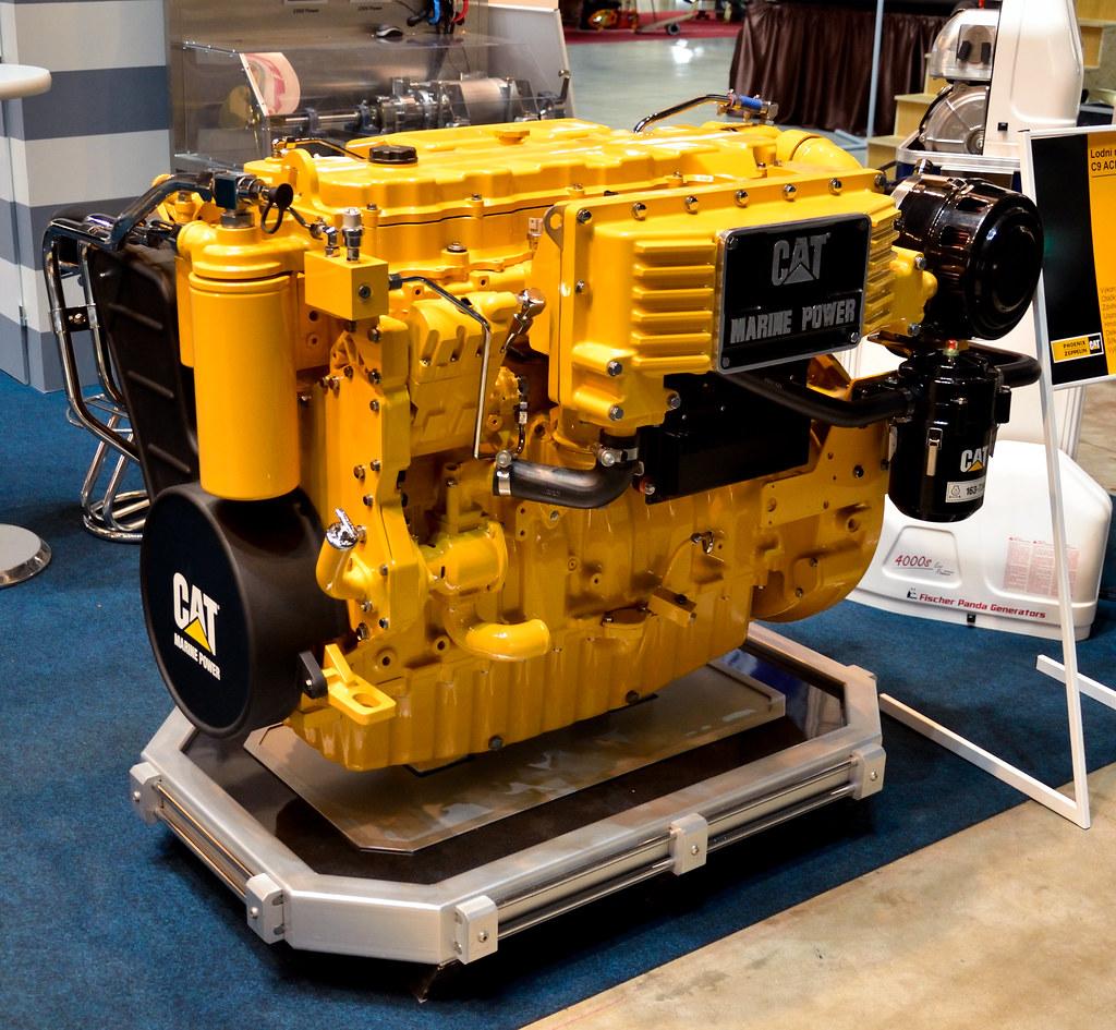 Caterpillar C9 ACER MARINE ship engine | 8 8 l, 205 kW, 1800… | Flickr