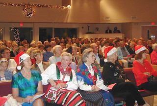 Sarasota - Audience at Lucia Pageant