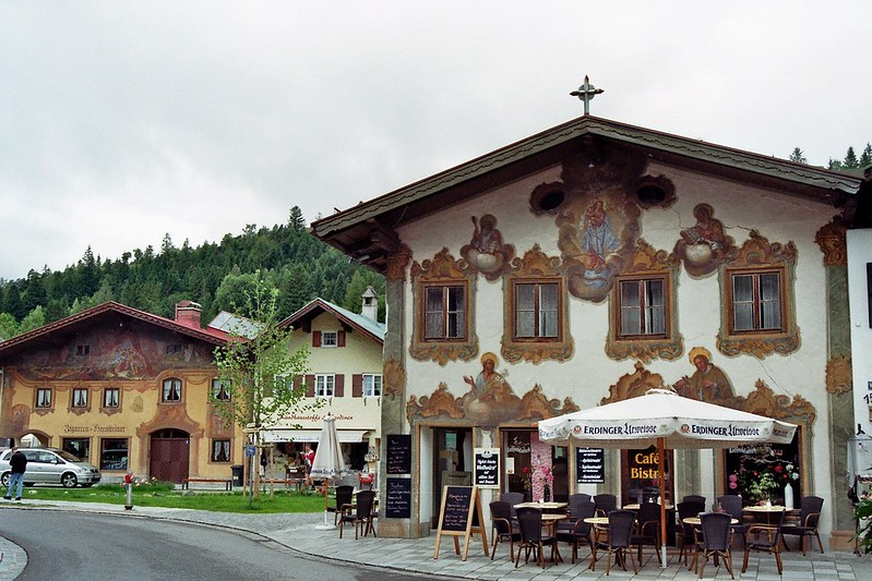 Allemagne, Bavière, Mittenwald.
