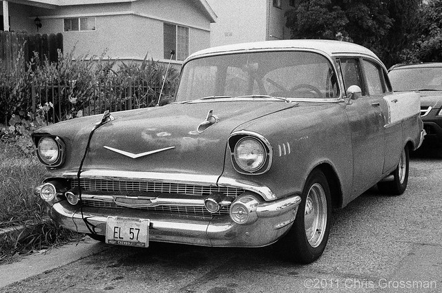 1957 Chevy - Olympus 35SP - HP5+