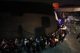 Ambiance de la Nuit du Festival des sciences 2011