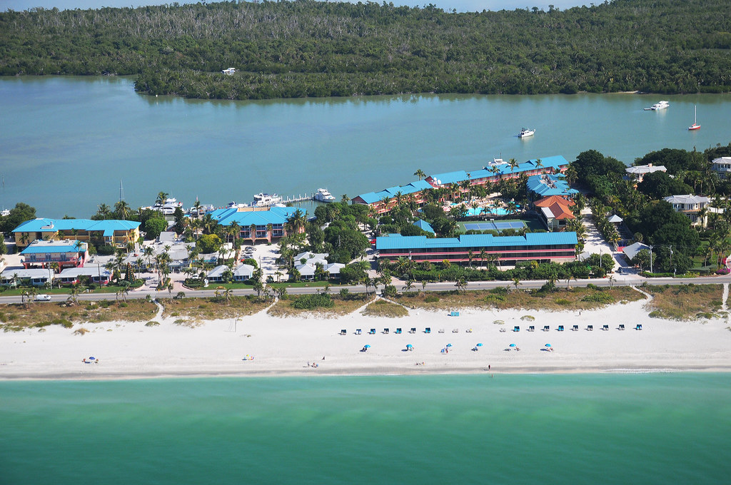 'Tween Waters Inn Aerial, Captiva Island